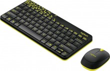 Logitech MK240 Nano Black-Yellow USB