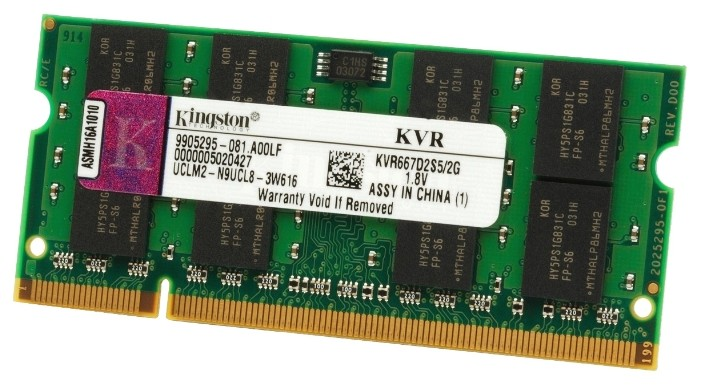 Kingston KVR667D2S5/2G