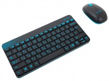 Logitech Wireless Combo MK240 Black USB